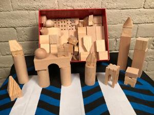 Haba--real birch wood building blocks!--SOLD!