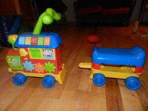 Train trotteur