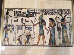 Authentic Egyptian Painting Downtown-West End Greater Vancouver Area image 3