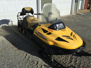 2001 Skidoo Widetrack 600