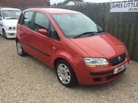 Fiat idea 1.4. 05 reg 47,000 miles immaculate condition