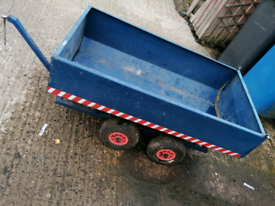 Trailer for quad / kids toy tractor / lawn mower