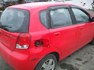 PARTS AVAILABLE FOR A 2008 PONTIAC WAVE