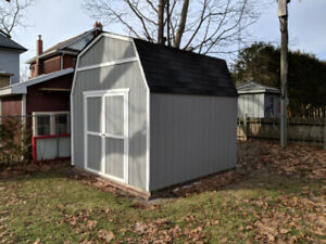 12x12 storage shed available for RENT in Oshawa. NOT FOR SALE!