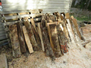 "Firewood wedges for sale (all figured maple) 32"" long"