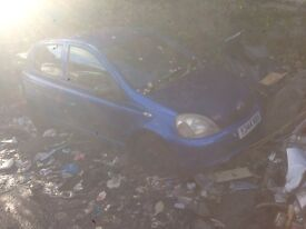 2001 TOYOTA YARIS 1.0/1.3 MANUAL BREAKING FOR PARTS BLUE