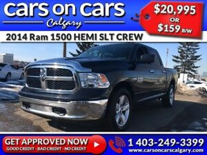 2014 Ram 1500 DODGE HEMI SLT CREW w/BlueTooth, Satellite Radio,