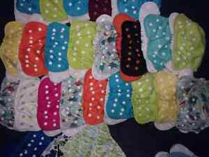 Size 1 lot of AppleCheeks diapers inc discontinued London Ontario image 1