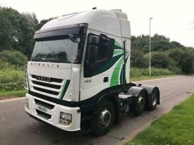 2012 IVECO STRALIS 450HP 6X2 TRACTOR UNIT