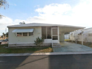 Double wide mobile home for rent in Clearwater FL,  April 2020.
