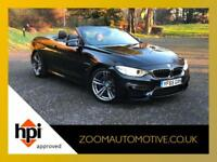2015 BMW M4 3.0 M DCT CONVERTIBLE AUTOMATIC PADDLE SHIFT