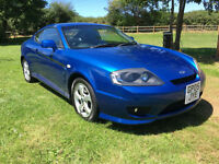2005 Hyundai Coupe FULL LEATHER FULL MAIN DEALER HISTORY 81000 MILES MINT
