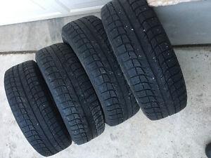 Michelin winter x tires 195/60r15