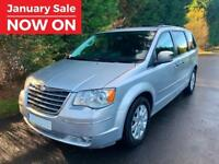 2010 CHRYSLER GRAND VOYAGER 2.8 CRD LIMITED AUTOMATIC 7 SEATER TURBO DIESEL