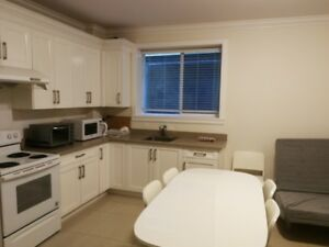 2 BDRM basement suite  close to Churchill and Laurie school