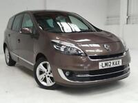 2012 12 RENAULT SCENIC 1.5 GRAND DYNAMIQUE TOMTOM ENERGY DCI S/S 5D 110 BHP DIES