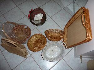 Woven Baskets -  $0.50 - $5