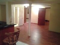 Two bedroom basement apartment separate entrance Mississauga
