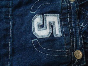 Boys Size 12 Months Patchwork Lightweight Jean Overalls Kingston Kingston Area image 2