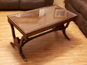 ANTIQUE -Lion Claw Foot Coffee Table  NEW PRICE  !!!