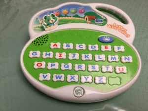 Leap Frog Letter Discoveries with Scout the Dog Electronic Game
