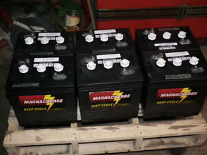 USED  GOLF  CART  BATTERY`S   6  VOLT  READY  TO  USE .