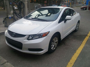 2012 Honda Civic Coupe (2 door) EXTREMELY CLEAN