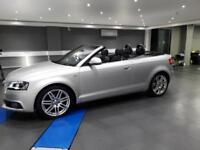 2009 Audi A3 Cabriolet 1.8TFSI S Line Beautiful Car 1 Owner