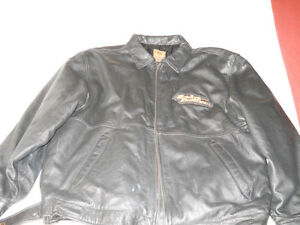 Mens leather Harley Davidson Jacket
