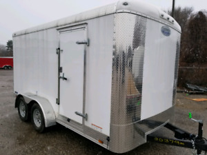 Fall Clearance of  7 x 14 Enclosed Cargo Trailers