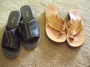 SHOES....WIDE VARIETY...Sizes 6,  6.5,  7...LEATHER, NEW, ETC.