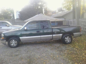 2002 Chev 1500 2wd pick up.