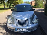 Chrysler PT Cruiser AUTOMATIC 73K very good condition 1 year MOT