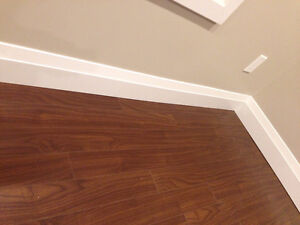 Baseboards and trims installations and Caulking and painting, Al Edmonton Edmonton Area image 3