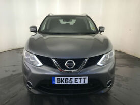 2015 65 NISSAN QASHQAI N-TEC + DCI DIESEL HATCHBACK 1 OWNER FINANCE PX WELCOME