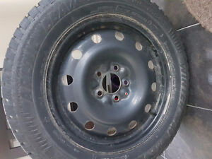 4 Artic Claw Winter Tires and Rims