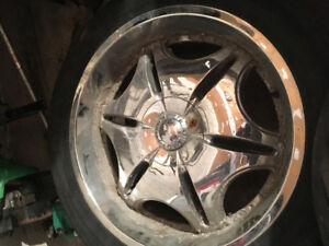 """Incubus 22"""" rims Chevy 6 bolt 250 OBO"""