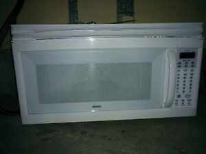 Over the range microwave oven - Kenmore- great condition!