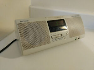 Sony Dream Machine radio, alarm clock, audio in