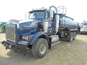 LOW KM. WATER TRUCK FOR SALE