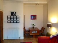 Bright & Spacious 1 Bedroom Furnished Flat for rent in Leith from Aug 3