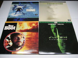 Laserdiscs - 4 Titles