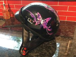 Ladies Beanie Motorcycle Helmet