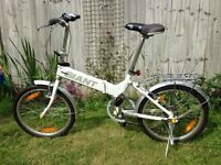 Folding bike Giant, perfect condition