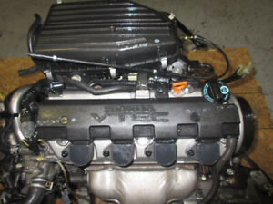 2001 2002 2003 2004 2005 MOTEUR HONDA CIVIC 1.7L D17A VTEC ENGIN
