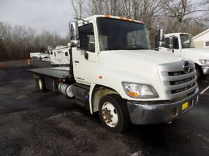 2012 Hino 258 Flatbed Tow Truck