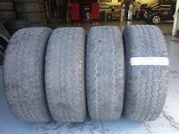 255/70R/16 4 Used Goodyear Wrangler A/T @ Auto Trax City of Toronto Toronto (GTA) Preview
