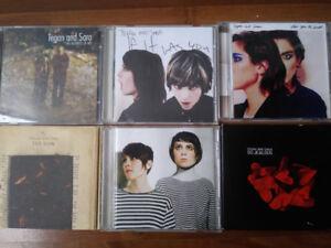 Tegan and Sara 6 CD Set