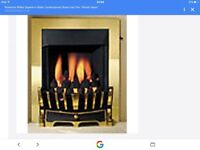 Robinson & willey super eco gas fire with coal effect