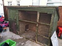 Dog run large kennel 10 x4